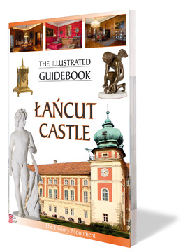 Lancut Castle - illustrated guidebook