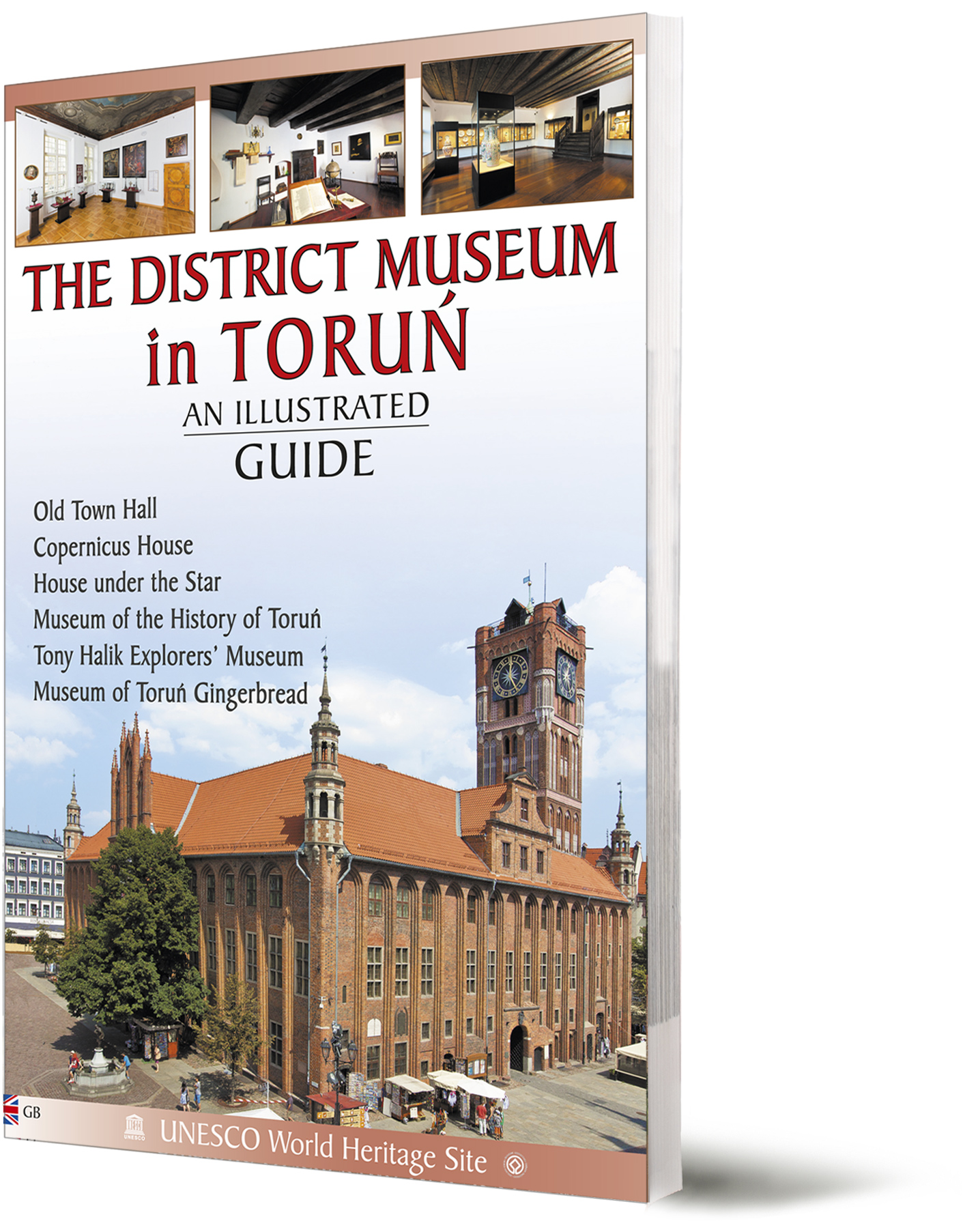 Torun District Museum illustrated guidebook - front cover