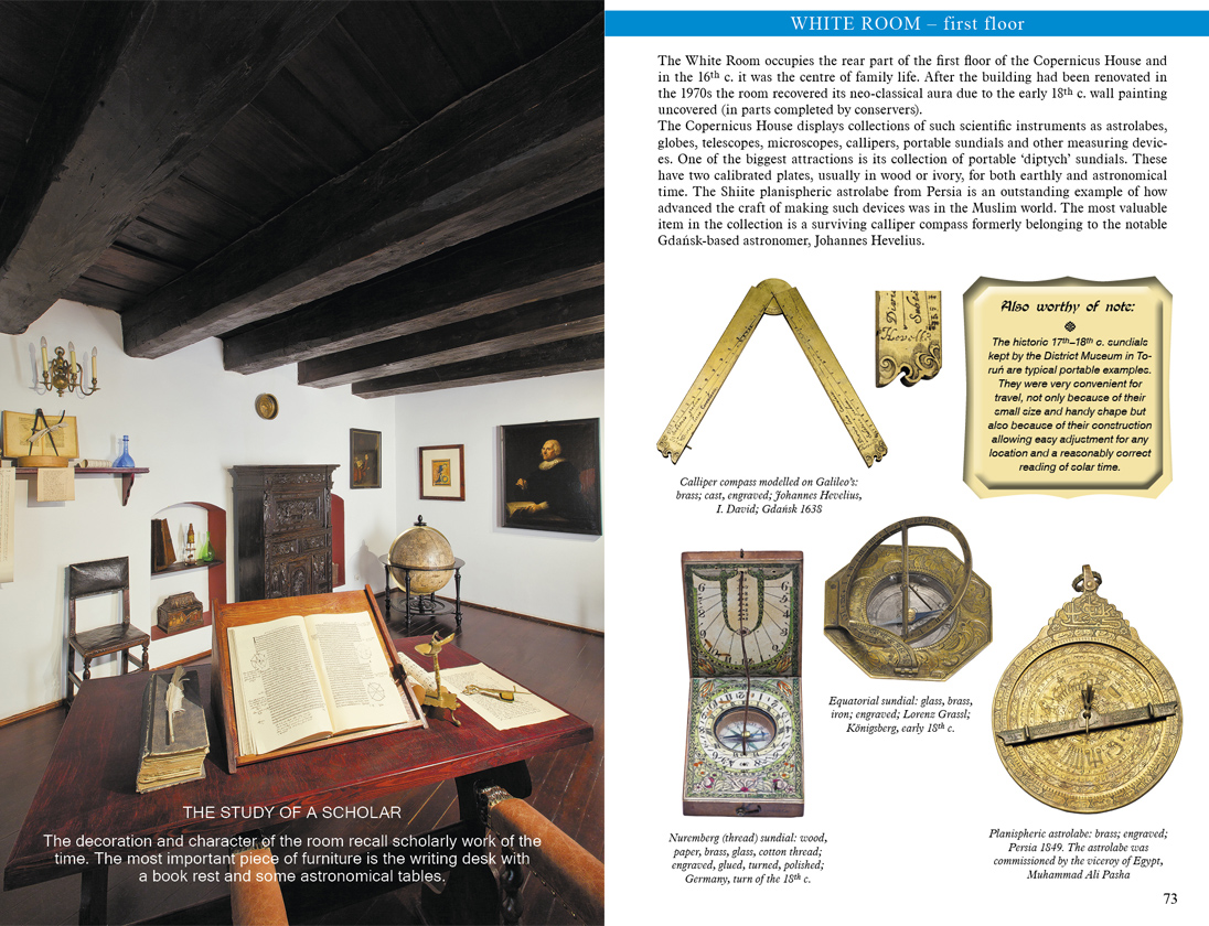Torun District Museum illustrated guidebook